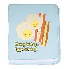 Wakey Wakey Eggs N Bakey Infant Blanket