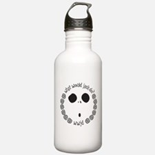 Funny Would Water Bottle
