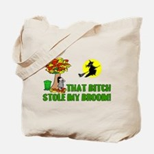 Stole My Broom Tote Bag