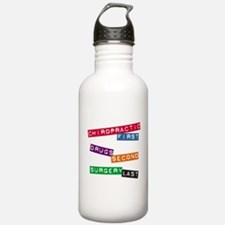 Chiropractic First Water Bottle
