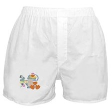 Cute Garden Time Baby Ducks Boxer Shorts