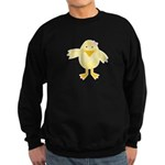 Cute Little Girl Chick Sweatshirt (dark)
