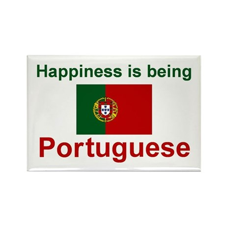 "Portuguese Happiness Magnet 3""x2"" (10 pack)"