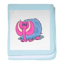 Silly Wooly Mammouth Infant Blanket