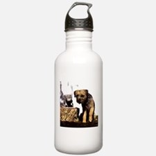 Border Terrier and Rat Water Bottle
