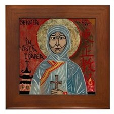 Saint Ia Of The New Chinese Martyrs Framed Tile