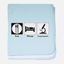 Eat. Sleep. Experiment. (Scie Infant Blanket