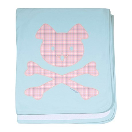 Doggy Crossbones by Rotem Gear baby blanket