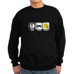 Eat. Sleep. Smile. Sweatshirt