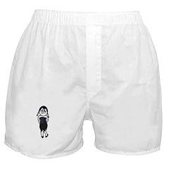 Sexy Goth Girl Boxer Shorts