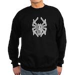 Tribal Spider Design Sweatshirt (dark)