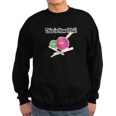 How I Roll (Yarn) Sweatshirt (dark)