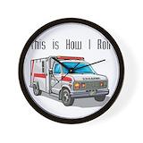 Ambulance Wall Clocks
