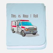 How I Roll (Ambulance) Infant Blanket