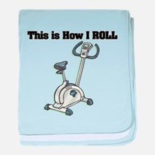 How I Roll (Exercise Bike) Infant Blanket