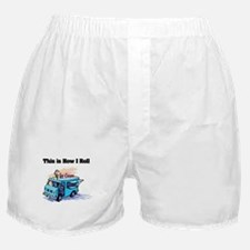 How I Roll (Ice Cream Truck) Boxer Shorts