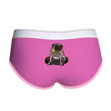 Senior Pug Women's Boy Brief