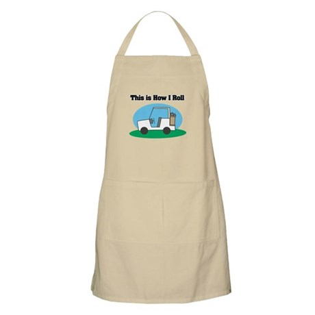 How I Roll (Golf Cart) Apron