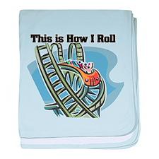 How I Roll (Roller Coaster) Infant Blanket