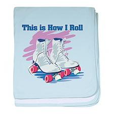 How I Roll (Roller Skates) Infant Blanket