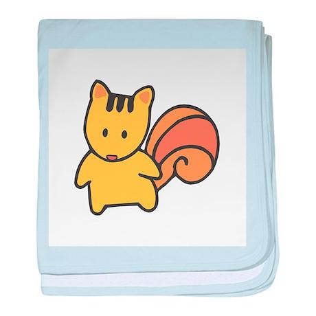 Cute Lil' Squirrel Infant Blanket