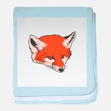 Baby Fox Head Infant Blanket