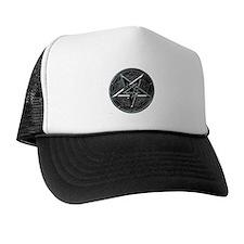 Silver Pentagram Trucker Hat