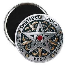 Silver Pentagram Magnet