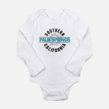 Palm Springs California Long Sleeve Infant Bodysui