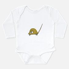 Silly Little Horseshoe Crab Long Sleeve Infant Bod