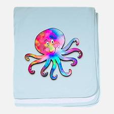 TyeDye Octopus Infant Blanket