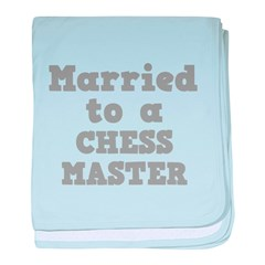 Married to a Chess Master Infant Blanket