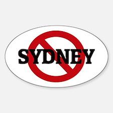 Anti-Sydney Oval Decal