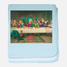 The Last Supper baby blanket