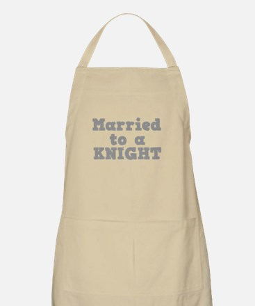 Married to a Knight Apron