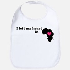 I Left My Heart in Africa Bib