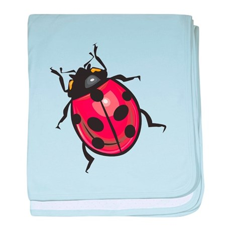 Lady Bug Infant Blanket