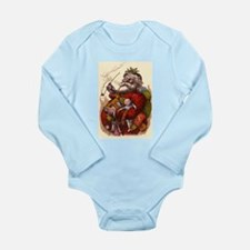 Vintage Christmas Santa Claus Long Sleeve Infant B