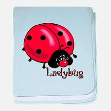 Chubby Lil' Ladybug Infant Blanket