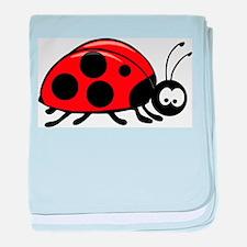 Lady Bug Infant Blanket