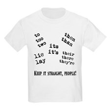 Pet Peeves Kids T-Shirt