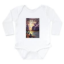 Vintage Travel Poster Norway Long Sleeve Infant Bo