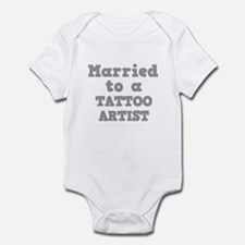Married to a Tattoo Artist Infant Bodysuit