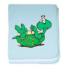 Scared Little Turtle Infant Blanket