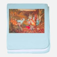 Enchanted Forest by Fitzgerald baby blanket