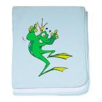 Silly Prince Frog Infant Blanket