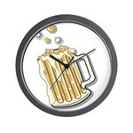 Retro Style Beer Wall Clock