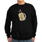 Retro Style Beer Sweatshirt (dark)