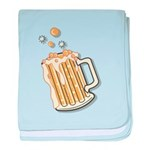 Retro Style Beer Infant Blanket