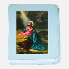 Vintage Jesus Christ baby blanket
